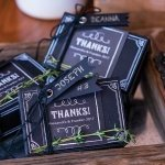 Chalkboard Chic Favor Box Kit (Set of 10)