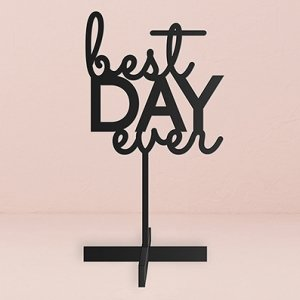 Best Day Ever Acrylic Sign (3 Colors) image