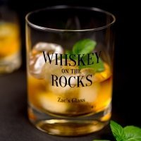 Personalized Whiskey Glasses (4 Designs)