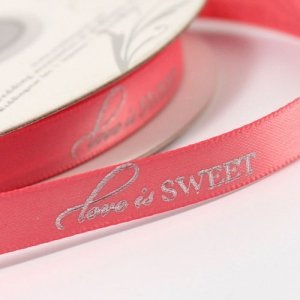 Love is Sweet Ribbon image