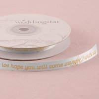Wanderlust Wedding Ribbon