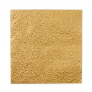 Gold Embossed Paper Napkins image