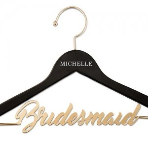 Personalized Wooden Bridesmaid Hanger image