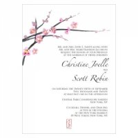 Cherry Blossom Stationery Sample
