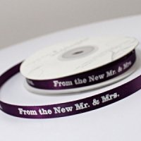 From The New Mr. & Mrs. Ribbon (4 Sizes - 31 Colors)