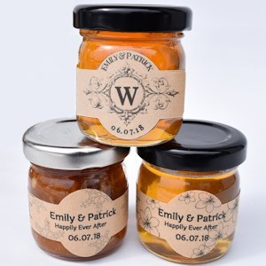 Apple Pie Jelly Wedding Favors image
