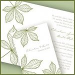 Autumn Leaf Stationery Collection