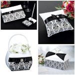 Black Damask Wedding Collection