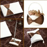 Brown Bow Wedding Collection