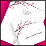 Cherry Blossom Stationery Collection