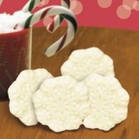 White Chocolate Snowflakes (Case of 250)