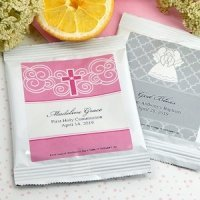 Personalized First Communion Lemonade Favors