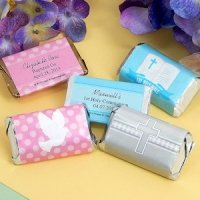 Personalized Communion Mini Chocolate Bar Favors