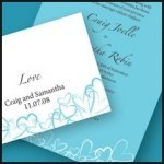 Contemporary Hearts Stationery Collection