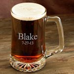 Personalized 25 oz Sports Mug Glasses