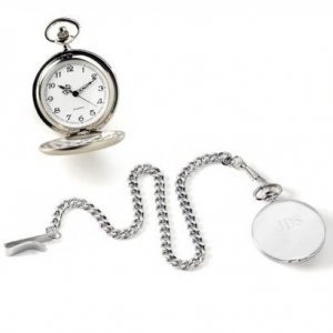 Engraved High Polish Pocket Watch image