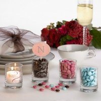 Favor Lights Personalized Votive Candle Wedding Favors