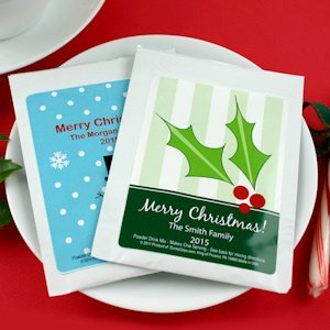 Custom Cappuccino Christmas Party Favors image
