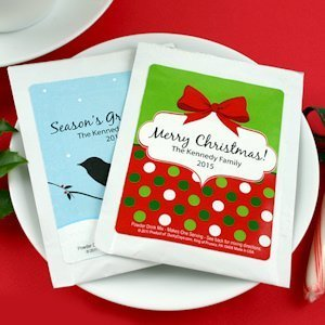 Personalized Holiday Cocoa Favors (24 Designs) image