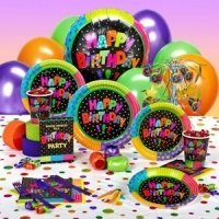 Kids Birthday Tableware