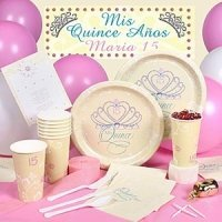Quinceanera Tableware