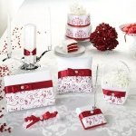 Red & White Vines Wedding Collection
