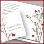 Romantic Butterfly Stationery Collection