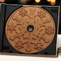 Milk Chocolate Snowflake CD (Case of 20)