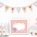 Tea Party Bridal Shower Collection