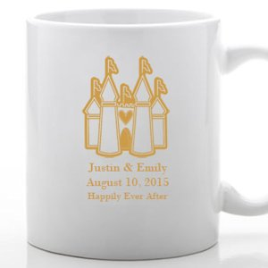 Custom White Mug with Fairy Tale Design image